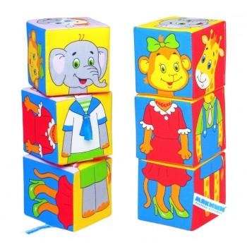 Кубики «Собираем по одёжке»