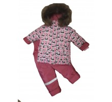 Костюм 40 Панда розовый