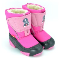 Сноубутсы 4021 DOGGY розовый